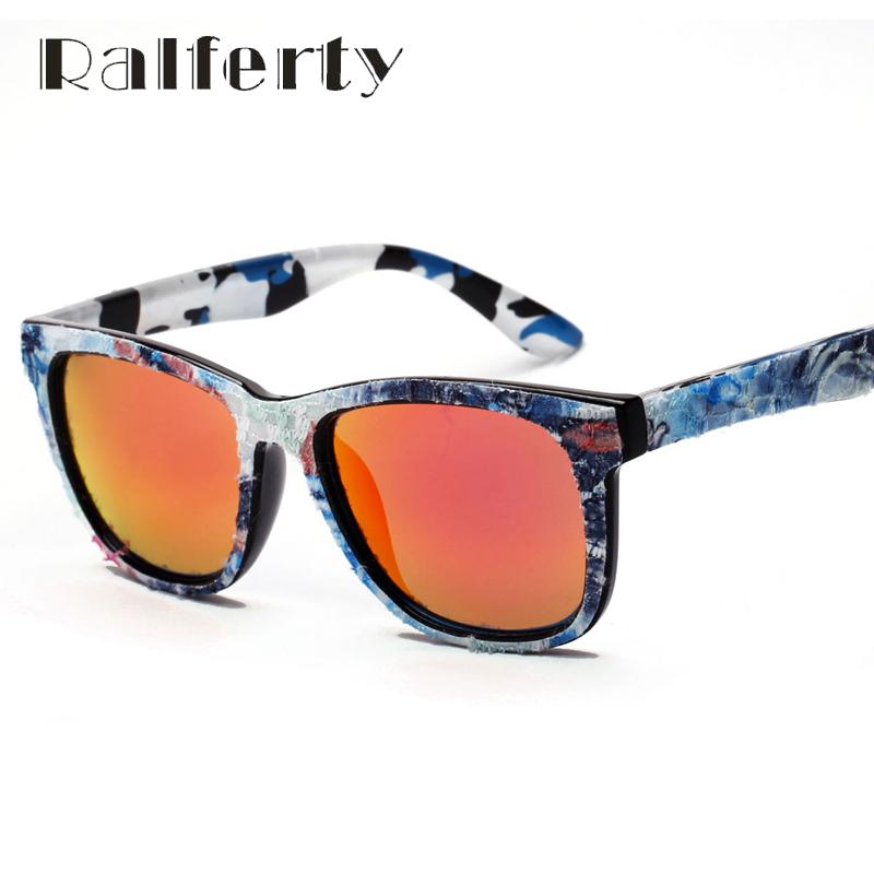 Ralferty Handmake Camouflage Canvas Fabric Sunglasses Women Vintage Oversize Mirror Sun Glasses Cowboy Eyewear Oculos UV400 3841(China (Mainland))