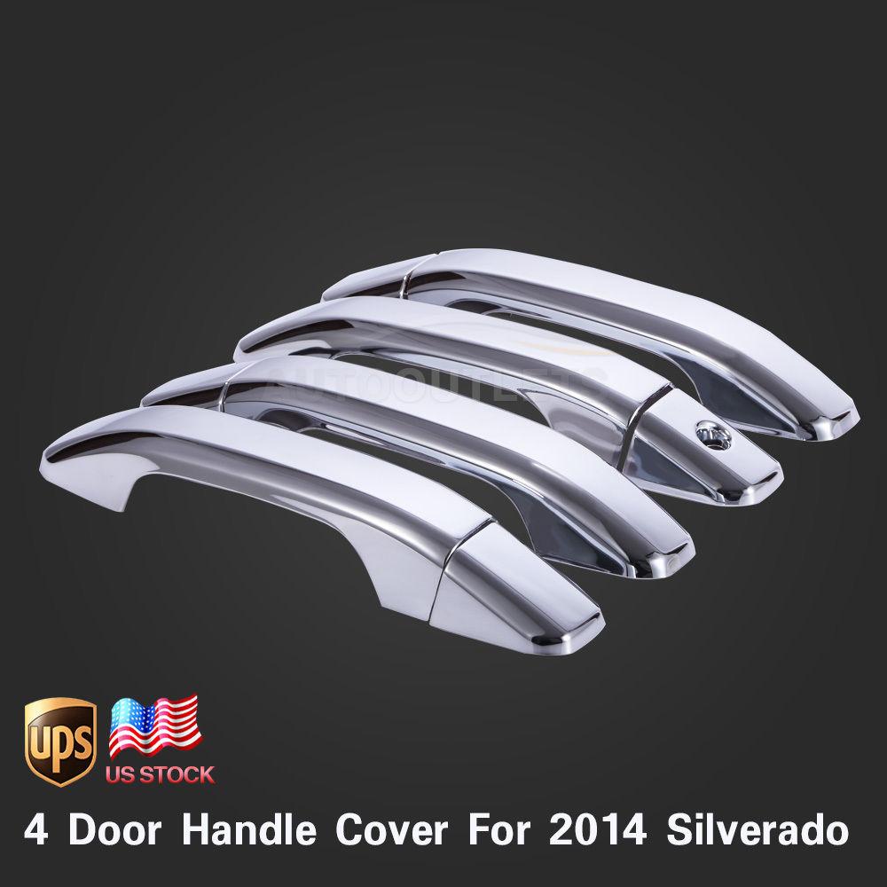Car styling for 2014 chevy silverado 1500 4dr 4 door for 03 silverado door handle replacement