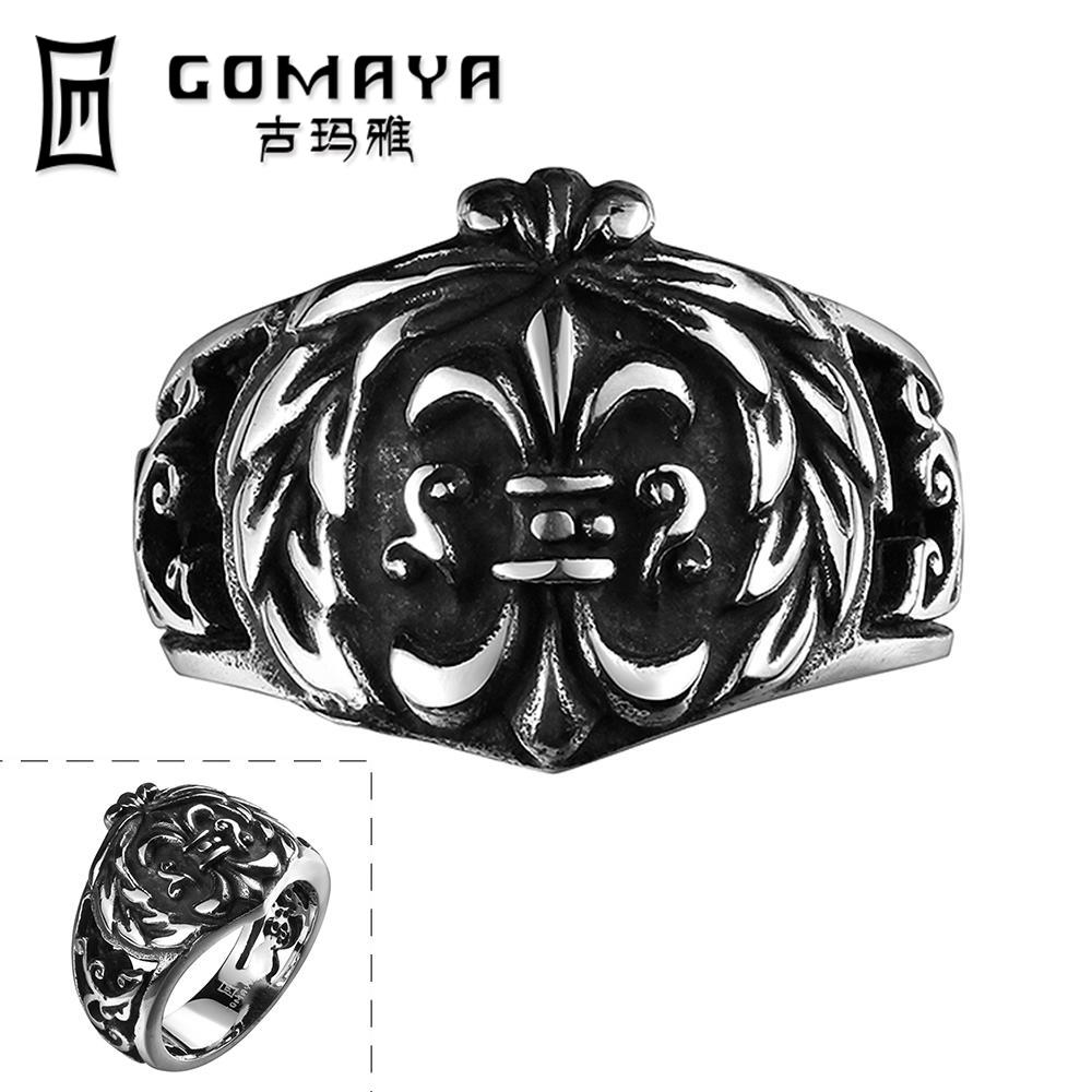 R128-8 New Fashion Cool Personality Game Ancient Skull Jewelry Stainless Punk Ring Python Cubic Zirconina Cosplay Rings(China (Mainland))