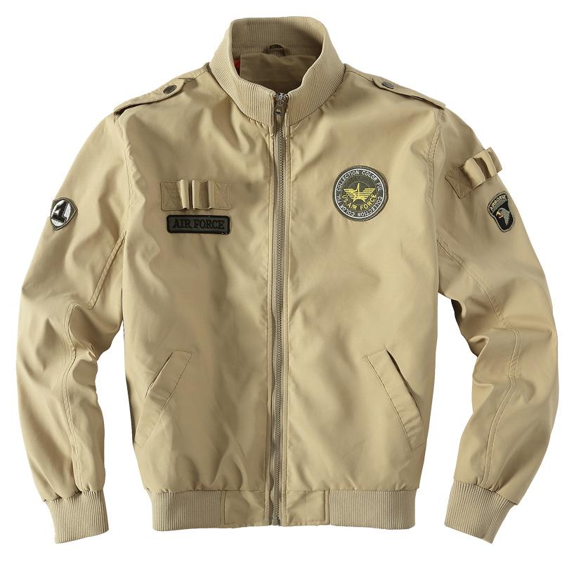 2015 spring jacket men sport waterproof coat M65 pilot jacket uniform American motorcycle slim on outdoor clothes M-4XL(China (Mainland))