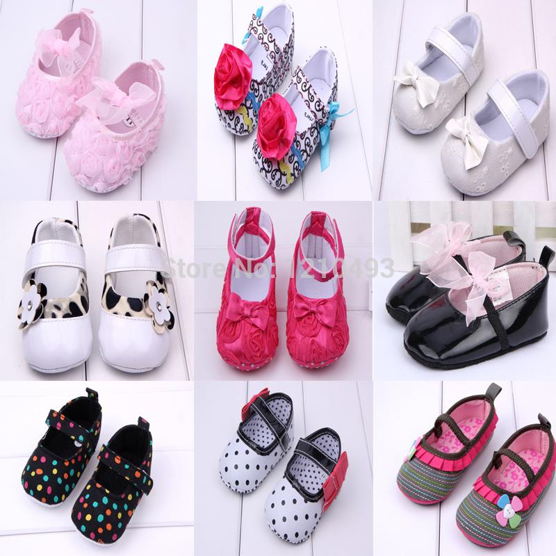 2015 New Fashion Super Sweet Lightweight Soft Bottom Sole Toddler Infant Prewalker Mary Jane Baby Girl First Walkers Ballet Shoe(China (Mainland))