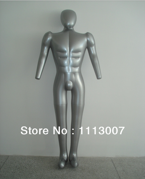 New Arrival Inflatable Body Mannequin Top Level Inflatable Mannequin For Display Uderware Clothes(China (Mainland))