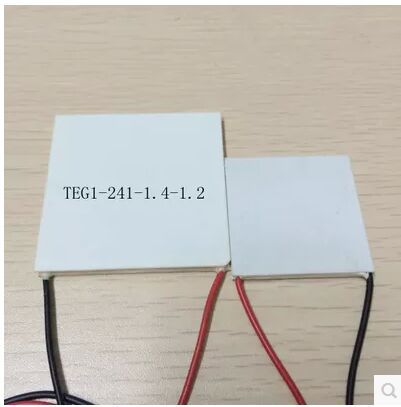 55x55MM 7V 1.25A 55x55 Thermoelectric Power Generation Peltier Module TEG1-241-1.4-1.2(China (Mainland))