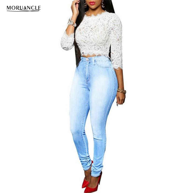 Popular Light Blue Denim Skinny Jeans-Buy Cheap Light Blue Denim ...
