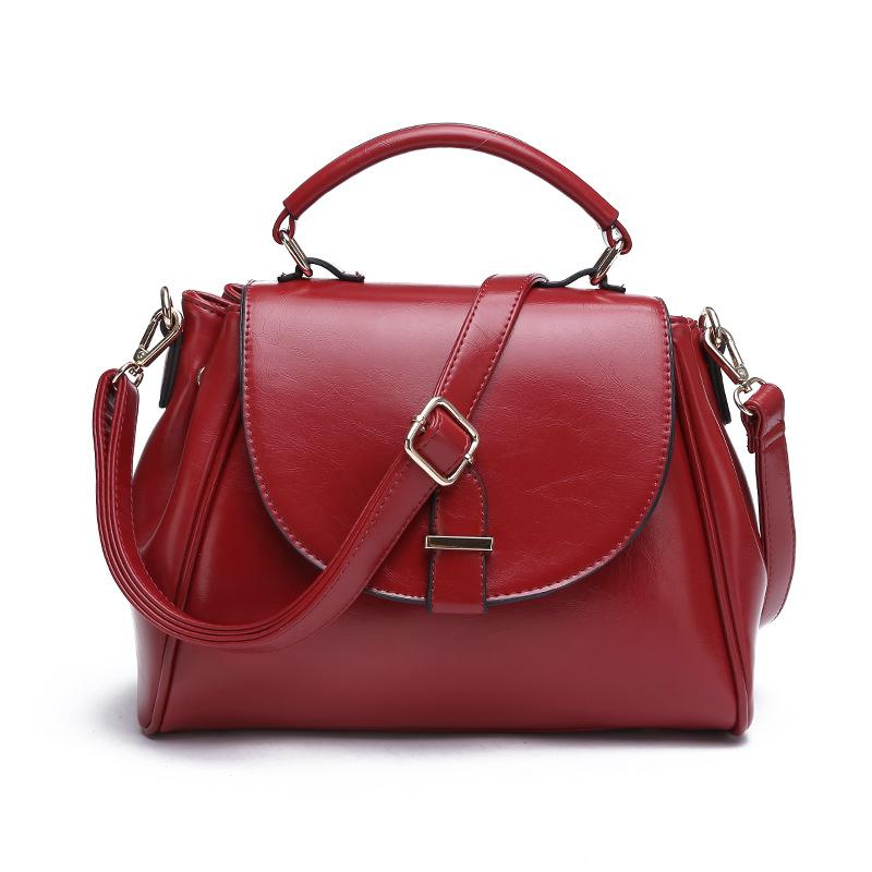 Women Genuine Leather Bag Ladies Large Capacity Messenger Bags Fashion Designer Handbag Vintage Totes - Jelja Luggage Co. Ltd store
