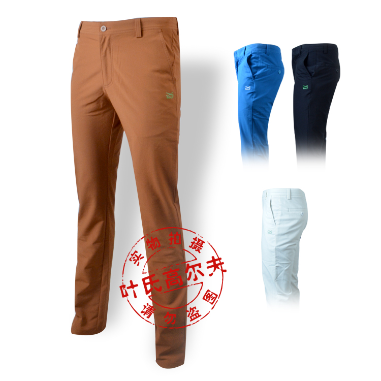 HOT selling top quality SUMMER quick dry men golf pants fashion outdoor plaid trousers golf sport  pants trousers free shipping