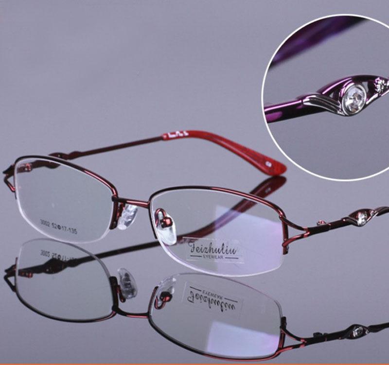 Glasses Frame Decoration : Aliexpress.com : Buy Womens glasses elegant radiation ...