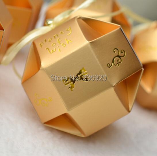 Box DIY Wedding Gift Box +Beautiful Ribbon + Bell Plenty Wish Gift Box ...