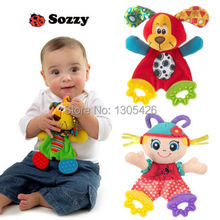 Baby Infant Soft Appease Toys Towel Playmate Calm Doll Teether Developmental Toy(China (Mainland))