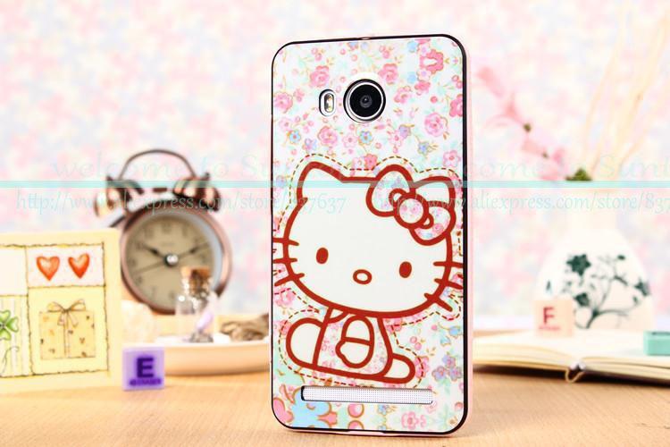 New arrival BBK vivo xshot case hello kitty girl cartoon TPU case cover for Vivo Xshot case X710L case free shipping(China (Mainland))