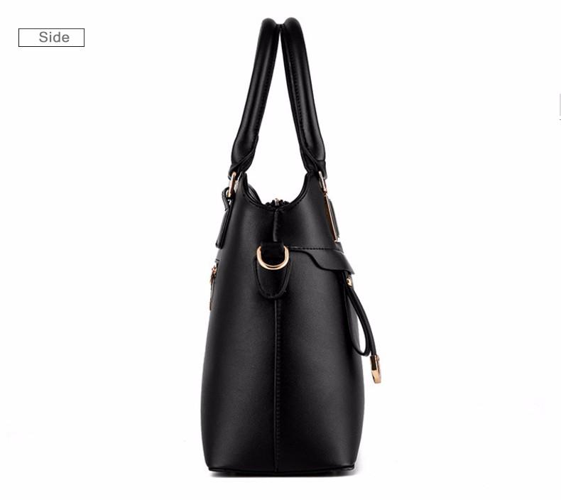ซื้อ ใหม่หญิงผู้หญิงหวานถุงแฟชั่นของแข็งกระเป๋าสะพายกระเป๋าMessengerทันสมัยและสง่างามเสน่ห์กระเป๋า