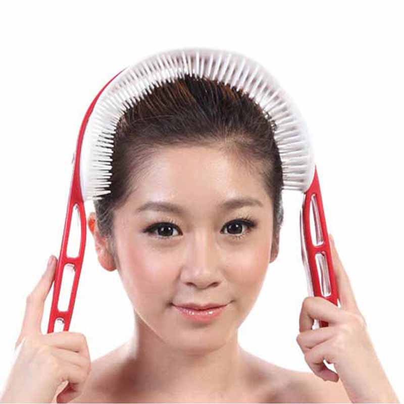 New octopus head massager scalp relaxed handle brain head therapy acupoint stimulation massager massage Free Shipping(China (Mainland))