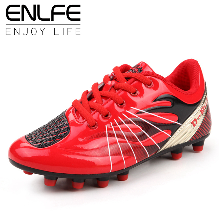 Cool Men Football Soccer Shoes Outdoor Soccer Cleats Sport Futsal Shoes Sneakers Boy Athletic Trainers /Botines De Futbol NX0559(China (Mainland))
