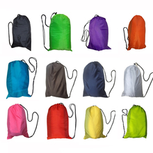 10 seconds Lazy Inflatable Sofa laybag Hiking Camping Hangout Beach Saco de dormir lay bag Air Sleeping bag(China (Mainland))