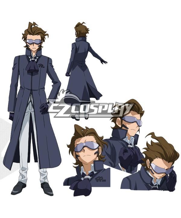 E002 font b Gundam b font Build Fighters Master Kawaguchi Cosplay Costume