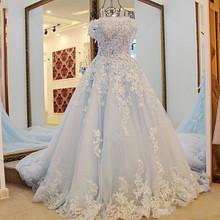 Buy Ball Gown Wedding dress Bride 2017 lace Wedding Dresses Bridal gowns vestido de noiva de renda Robe de mariage Robe de mariee for $188.00 in AliExpress store
