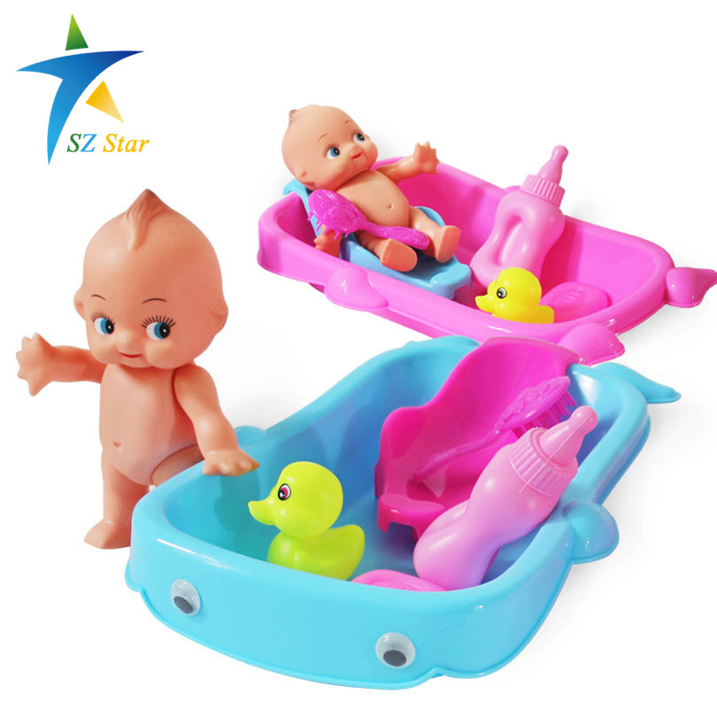 Water Bathtub Toys Baby Bath Children Kids Cognitive Floating Toy Bathroom Game Play Set Early Educational Newborn Gift - SZ Star store