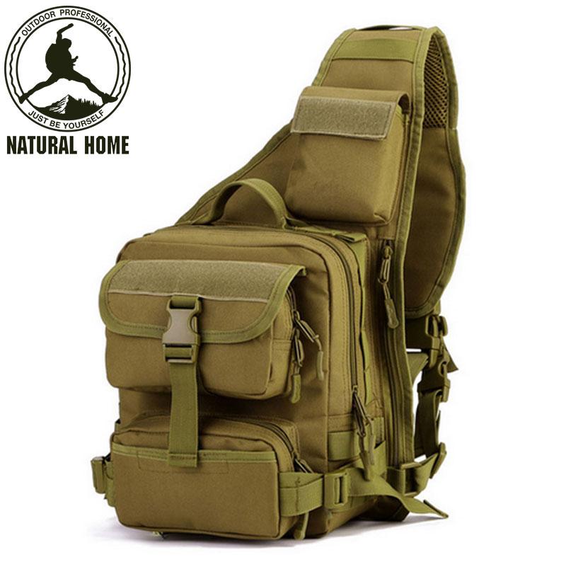 [NaturalHome] Brand Tactical Shoulder Bag Military Equipment Bags 2016 New Sports Waterproof Bag Packs for Men(China (Mainland))