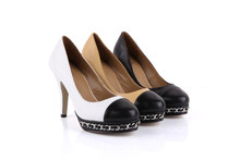 Size 34-42 HOT Sales Famous Luxury Brand Designer Style Women Pumps Women Genuine Leather High Heels Fashion party Women Shoes(China (Mainland))