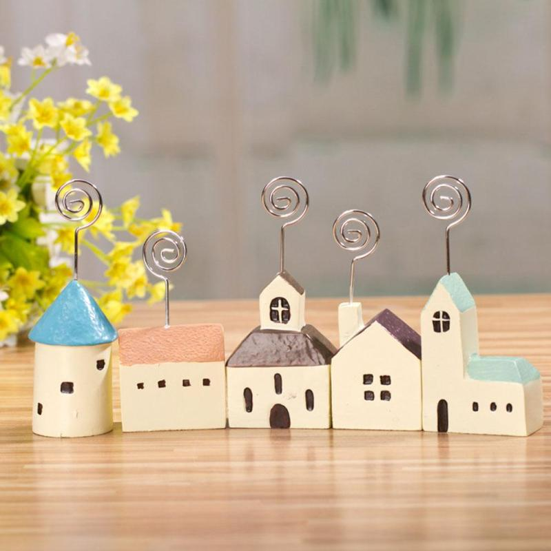 1pc small house resin business card holder business card holder desktop decoration card holder decoration desktop buy pc small business