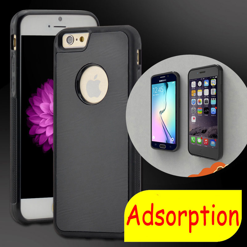 Anti-Gravity Selfie Magical Case Without Being Sticky Mobile Phone Cases For Apple iphone 6/6s 6/6sPlus Back Cover Bags(China (Mainland))