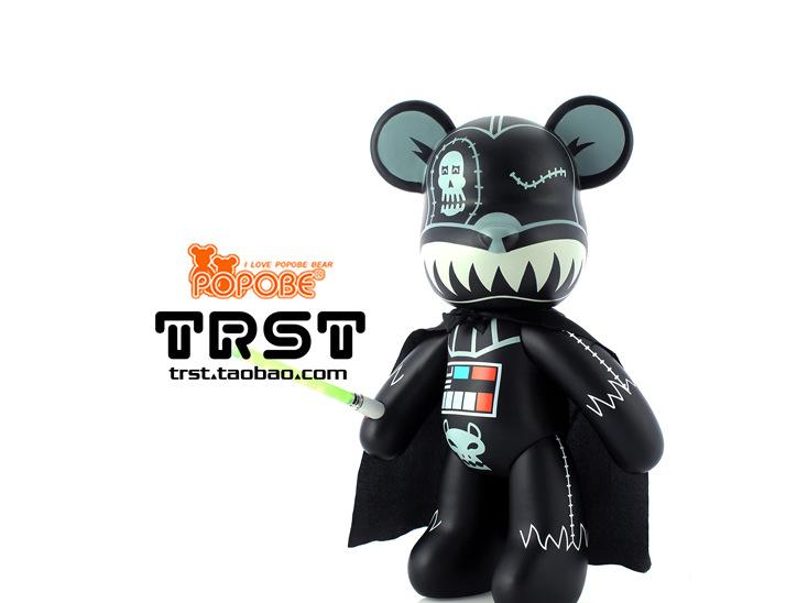 TRST POPOBE bear momo bear 15 legitimate violence Star Wars lightsaber large-sized dolls furnishing articles<br><br>Aliexpress