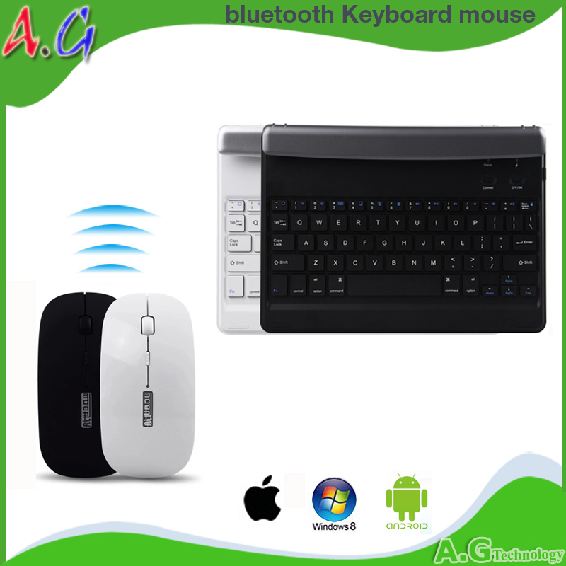 V975w bluetooth keyboard+mouse scrollable v919 3g air keyboard for for apple for for ipad ai air2 keyboard(China (Mainland))