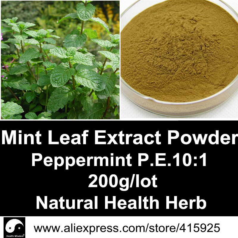 Peppermint Extract Powder 200g Natural Health Care Herbal Mint Leaf Menthol Dietary Supplements Spearmint