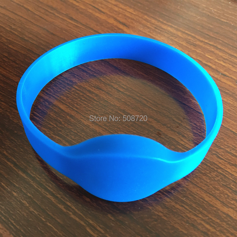10 PCS 125KHZ EM4100 ISO Compatible ID wristband silicone rfid bracelet for Access Control(China (Mainland))