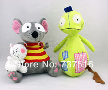 """New 9"""" TOOPY And 4"""" BINOO And 12"""" PATCHY PATCH Set Stuffed Animals & Plush Soft Toys(China (Mainland))"""