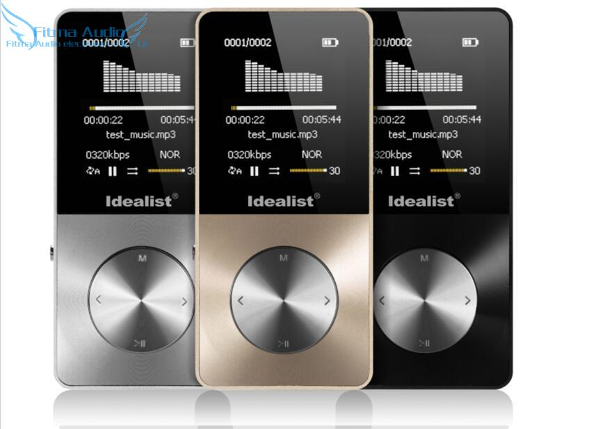 2016 New Idealist S1813 Metal MP3 MP 4 Walkman Lossless Music Player Support TF-Card Sports Free Shipping(China (Mainland))