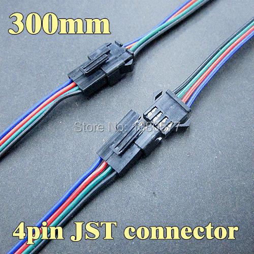 ჱ20 Pair 300mm ツ 175 Male Male And Female Jst Connector 4