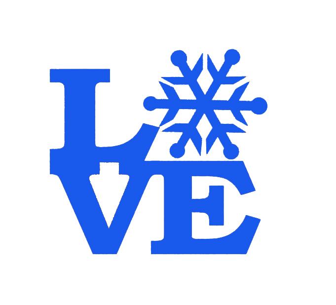Hot Romantic Snow Love Sticker Car Window Truck Bumper Door Ski Slope Sled Winter Christmas Valentine's Day Snowy Vinyl Decal(China (Mainland))