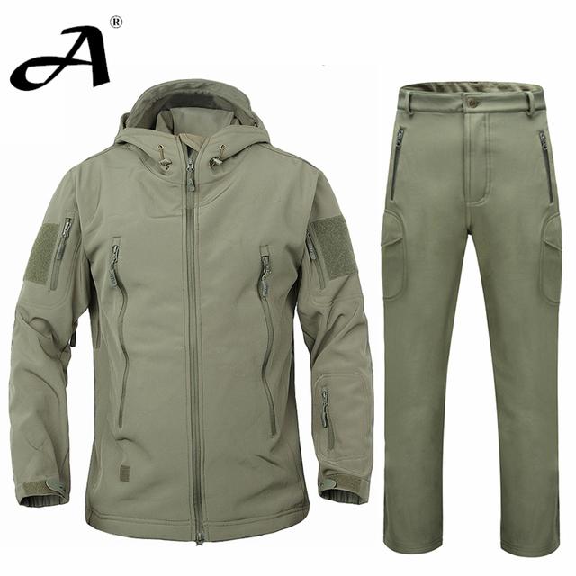 куртка мужская спортивный костюм мужской осень зимняя куртка пальто мягкая оболочка ...