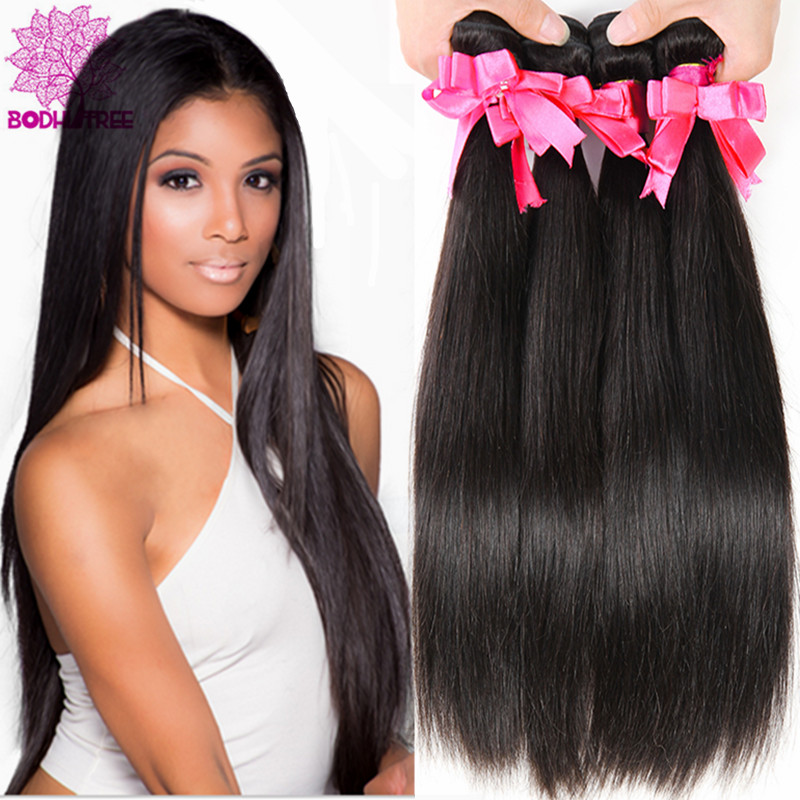 2015 Brazilian Virgin Hair Straight 3 Bundles Mocha Hair Brazilian Straight Cheap Human Hair 6A Brizilian Virgin Hair Straight
