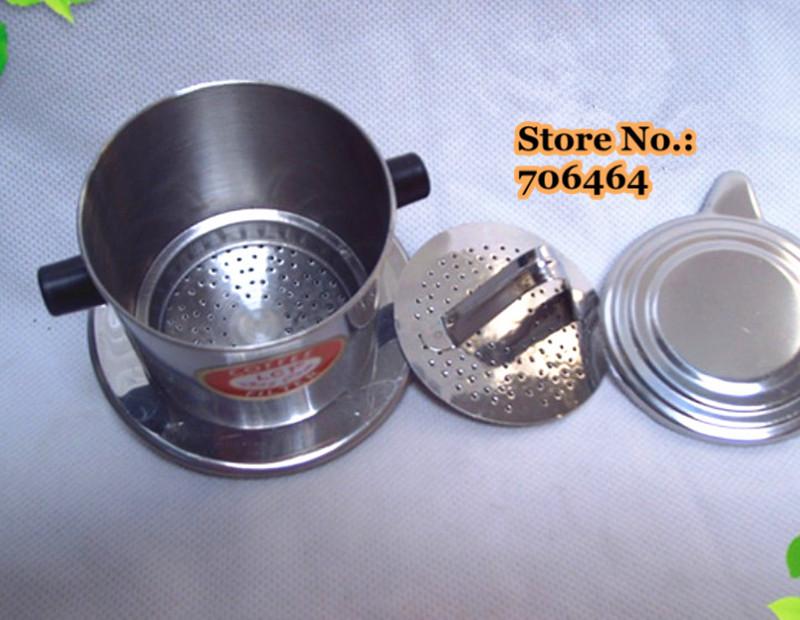 Filter Coffee Maker Manual : VMT07 Free shipping Vietnam drip coffee maker manual classic Vietnamese drip filter coffee pot ...