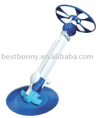 Swimming Pool automatic cleaner,Deluxe Automatic Pool Cleaner in a Sleek Body with 14 pieces of 80cm High Quality Hoses(China (Mainland))