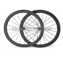 Buy carbon wheelset bikes 700c 50mm OEM carbon clincher wheels road bicycle wheel novatec hubs 23mm wide road rims carbon bike for $373.15 in AliExpress store