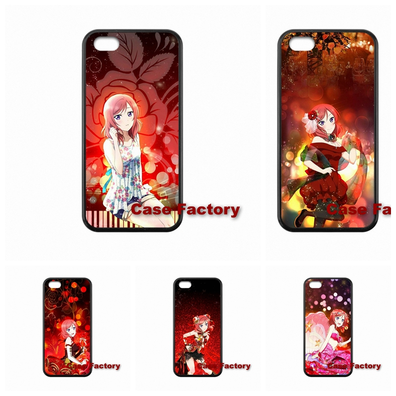 For Huawei P6 P7 P8 mini Lite Honor 3c 6 Mate 7 8 Samsung Note 3 4 5 Anime beauty Love Live mobile case(China (Mainland))