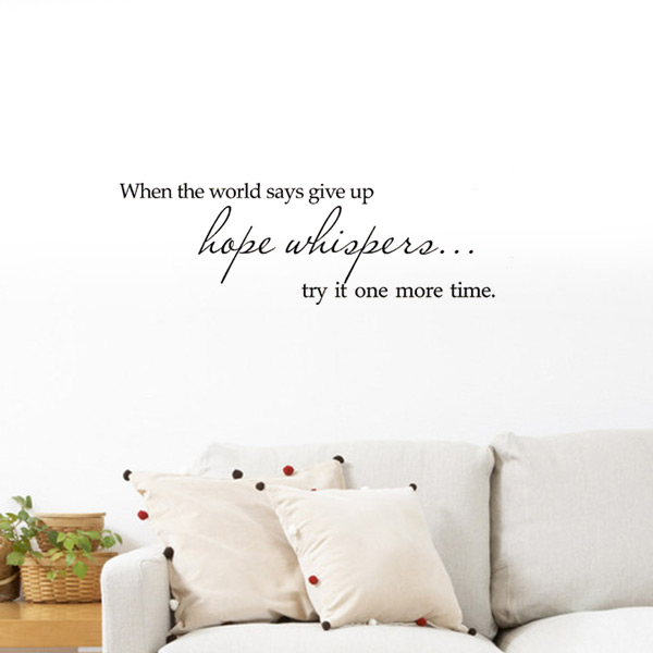 ... Stickers Home Decor Wall Living Room Decoration-in Wall Stickers from
