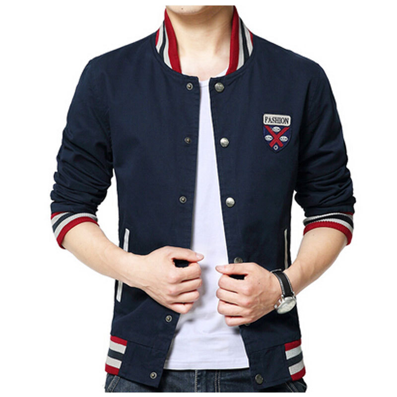 2015 Hot Brand Men Jacket Sportswear College Mens Polo Jackets And Coats Men Windcheater Fashion Clothing(China (Mainland))