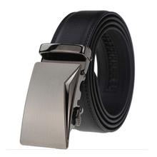 Buy Men's Genuine Leather Automatic Buckle Belt Man 2017 Designer Belts Men High Black Luxury Strap Cinto Masculino BTS931 for $15.50 in AliExpress store