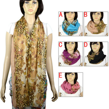 butterfly scarf  fall 2013 women designer fashion 5 colors available, infinity scarf usage,NL-2111