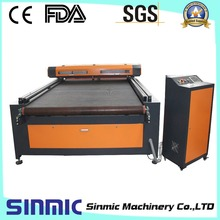 high performance automatic feeding laser engraving machine with clothes/shoes/bag/curtain(China (Mainland))