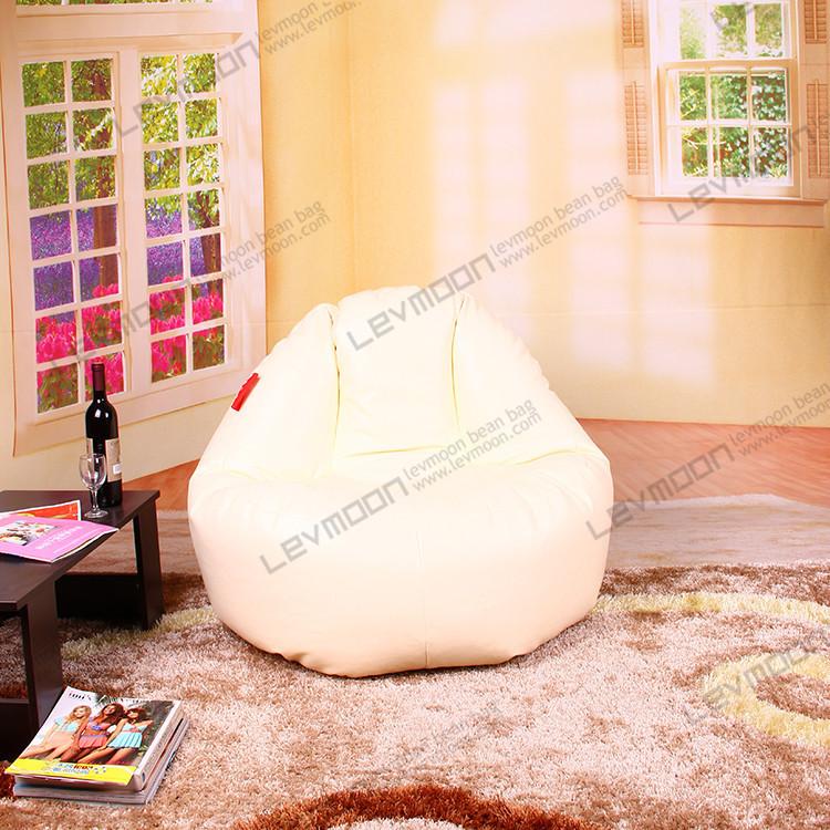 Здесь можно купить  FREE SHIPPING leather bean bags 100CM diameter leather bean bag chair cover PU leather zebra bean bags covers  Мебель