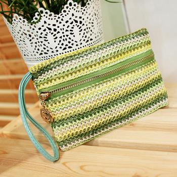 2315 2012 fashion vintage woven bag day clutch evening bag coin purse