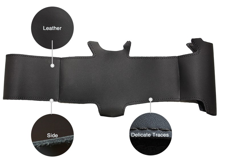 for Volvo S40 Steering covers,for Volvo S40 Black leather steering wheel cover,for Volvo S40 teering wheel cover leather