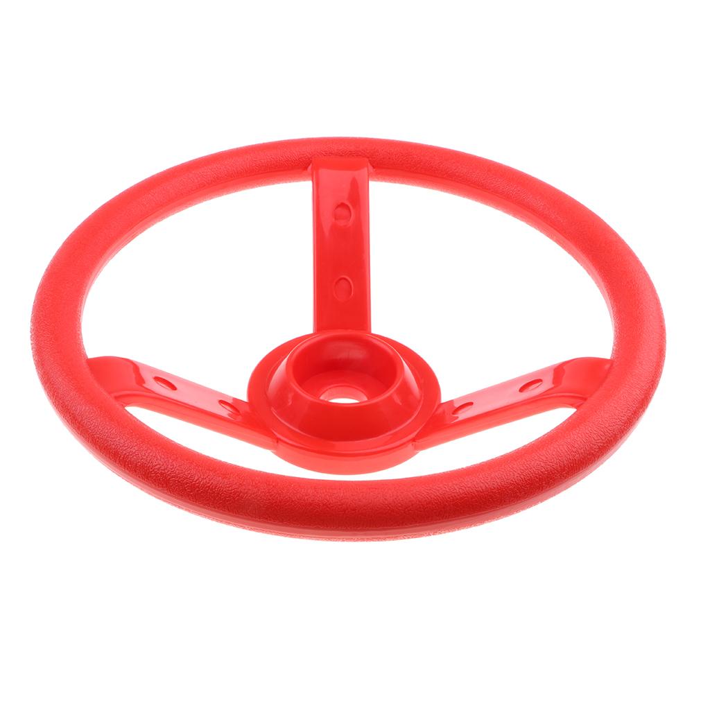 30cm Kids Steering Wheel Toy Swing Set Accessory Pirate Ship Wheel Outdoor Gym Sports Garden Game Climbing Frame