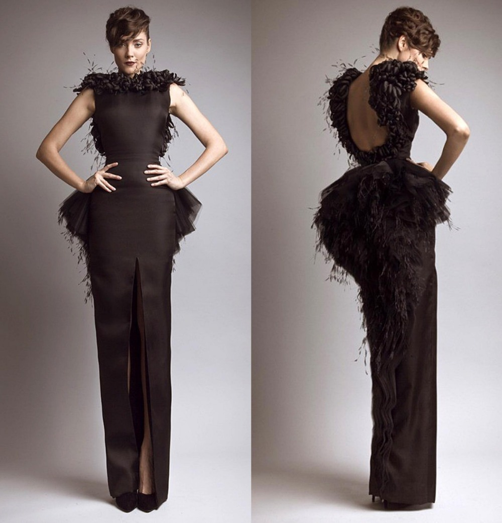 Compare Prices on Black Feathered Dresses- Online Shopping/Buy Low ...
