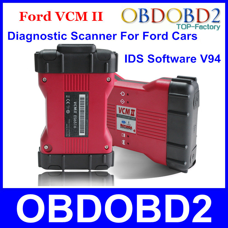 New Arrival For Ford VCM 2 Diagnostic Scanner VCM II IDS Only For Ford Vehicles 1996-2013 Latest Diagnostic Software IDS V94(China (Mainland))